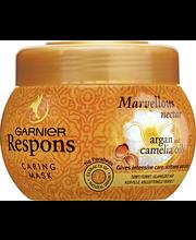 Garnier Respons 300ml Marvellous Nectar hoitava hiusnaamio kuiville ja kiillottomille hiuksille