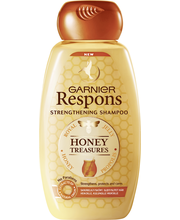 Garnier Respons 250ml Honey Treasures vahvistava shampoo heikoille ja kuluneille hiuksille