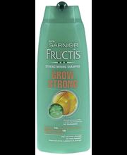 Garnier Fructis 250ml Grow Strong shampoo heikoille, irtoileville hiuksille