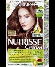 Garnier Nutrisse Cream 5.23 Rose Gold helmiäisruskea kestoväri