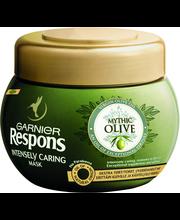 Garnier Respons 300ml Mythic Olive hiusnaamio erittäin kuiville ja käsitellyille hiuksille