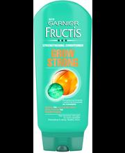 Garnier Fructis 200ml Grow Strong hoitoaine heikoille, irtoileville hiuksille