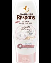 Garnier Respons 200ml Oat Milk Delicacy hoitoaine hennoille hiuksille ja herkälle hiuspohjalle