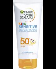 Garnier Ambre Solaire Sensitive Advanced Kids aurinkosuojaemulsio SK50+ 200ml