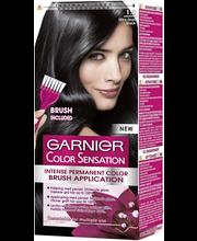 Garnier Color Sensation 1.0 Ultra Onyx Black Musta intensiivinen kestoväri