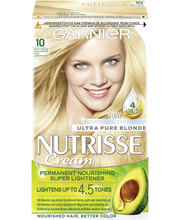 Garnier Nutrisse 10 kirkas luonnonvaalea kestoväri