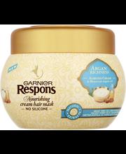 Garnier Respons 300ml Argan Richness hiusnaamio erittäin kuiville ja vaikeasti hallittaville hiuksille