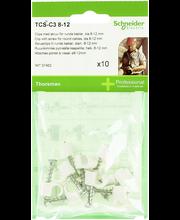 Ruuvikiinnike tcs-c3 8-12