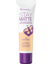 Rimmel 30ml Stay Matte Liquid Mousse Foundation 103 True Ivory meikkivoide