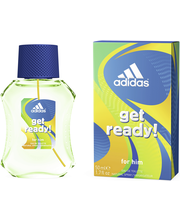 Adidas 50ml Get Ready EDT miehille