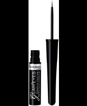 Rimmel 3,5ml Glam Eyes Professional Liquid Eyeliner 002 Velvet Brown nestemäinen silmänrajausväri