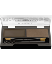Rimmel 2,4g Brow This Way Brow Sculpting Kit 003 Dark Brown kulmienmuotoilupaletti