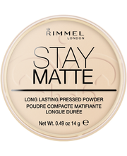 Rimmel 14g Stay Matte Pressed Powder 006 Warm Beige kivipuuteri