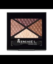 Rimmel 4,2g Glam'Eyes Quad Eyeshadow 002 Smokey Brun luomiväri
