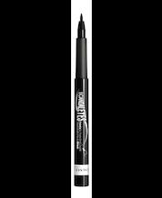 Rimmel 1,1ml Scandaleyes Thin&Thick Liquid Liner 001 Black nestemäinen silmänrajausväri