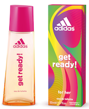 Adidas 50ml Get Ready Edt naisille