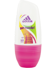 Adidas 50ml Get Ready Roll-On naisille