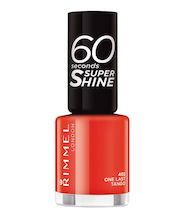 Rimmel 8ml 60 seconds Super Shine 402 One Last Tango kynsilakka