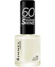Rimmel 8ml 60 seconds Super Shine 730 Silver Bullet kynsilakka