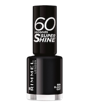 Rimmel 8ml 60 seconds Super Shine 800 Black Out kynsilakka