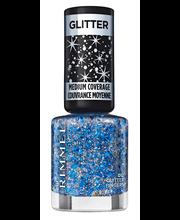 Rimmel 8ml Glitter Medium Coverage 012 Glitter Fingers kynsilakka