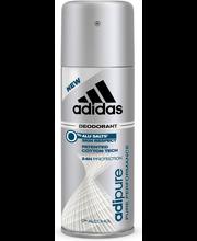 Adidas 150ml Adipure deodorantti spray miehille