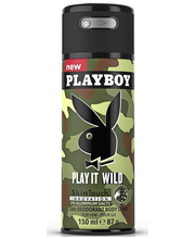Playboy 150ml Play it Wild Body Spray deodorantti