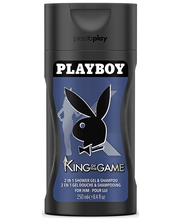 Playboy 250ml King Of The Game Shower Gel miesten suihkugeeli