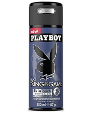 Playboy 150ml King Of The Game miesten Body Spray