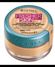 Rimmel Fresh Skin Foundation 100 Ivory meikkivoide