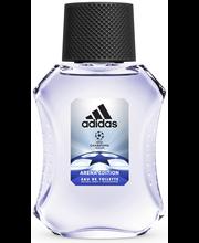 Adidas 50 ml UEFA 3 Arena Edition Eau de Toilette miesten hajuvesi