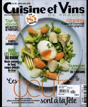 Cuisine & Vins de France, ruoka- ja juhlalehdet