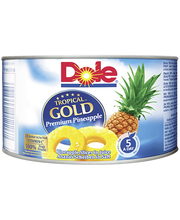 Dole Tropical Gold 227/139g Ananasviipaleita mehussa