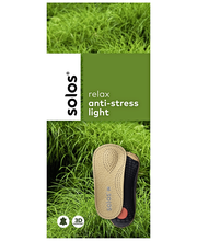 Solos anti-stress light tukipohjallinen koko 37