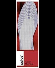 Solos Thermo pohjallinen leikattava 36-46