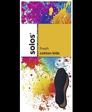 Solos cotton kids froteepohjallinen 29