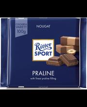 Ritter Sport 100g Praliné maitosuklaata täytteellä