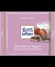 Ritter Sport 100g Strawberry-Yoghurt suklaa