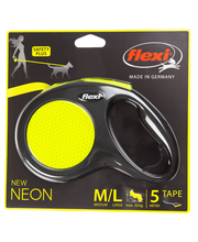 flexi Neon Reflect M-L max 50kg 5m nauha