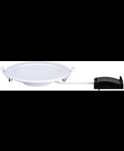 Upotettava alasvalo paneeli pyöreä led 1x12w 4000k 170mm valkoinen ip44