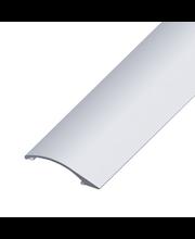 Tarraeritasolista 0-12x38, 2 m hopeaeloksoitu