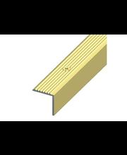 Porraslista Alfer 19x20 mm pronssi, 1 m