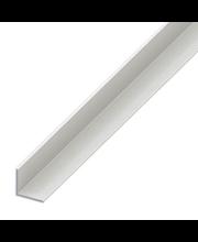 Kulmalista PVC 40 x 40 mm, 2,5 m valkoinen