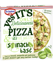 Dr. Oetker Yes its pizza Spinach Base pakastepizza 335 g