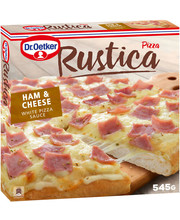 Ham & Cheese pizza 545 g