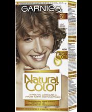 Garnier Natural Color 6.0 Light Brown vaaleanruskea kestoväri