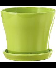 Scheurich sisäruukku 15 cm tropical green vihreä