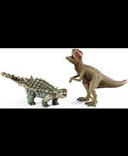 Schleich Saichania ja Giganotosaurus