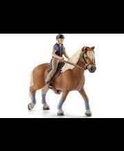 Schleich Vapaa-ajan ratsastajatar