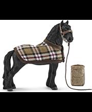 Schleich hevosenhoitosetti ja friisialainen